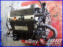 02 03 04 Honda Crv 2.0l 4cyl I-vtec Engine Jdm K20a Free Shipping
