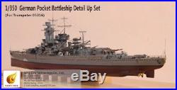 1/350 Very Fire GRAF SPEE Super Detail Up Set for Trumpeter Ship Model PhotoEtch