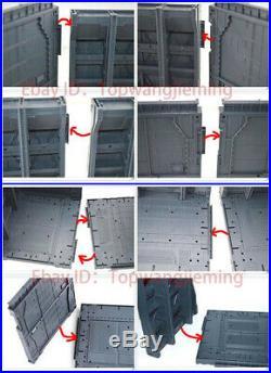 12x MECHANICAL CHAIN BASE Machine Nest for 1/100 HG/MG Gundam Model ship by DHL