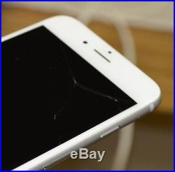 16GB APPLE IPHONE 6 FOR T-MOBILE MODEL # MG552LL - CRACKED SCREEN FREE SHIPPING