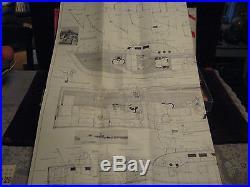 1st Orig VTG 1957 USAF Air-Sea Rescue Boat Berkeley's 30 Wooden Ship Model Kit