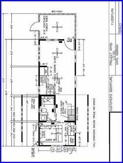 2019 12×40 RUSTIC CABIN PARK MODEL MOBILE HOME-PORCH-FOR RV