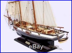 29 Harvey Handcrafted Wooden Tall Ship Model Ready for Display
