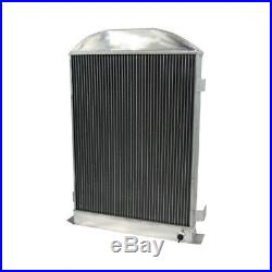 3 ROW Aluminum Radiator for 1930-1931 Ford Model-A Flathead Engine AT/MT US SHIP