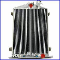 3Row Radiator&Shroud &16Fan For 1932 Ford HI/High Boy Street / Rat Rod USA SHIP