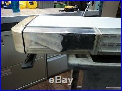 55 Whelen Light Bar Model # FX2RRRR (Free Shipping) For Parts Only