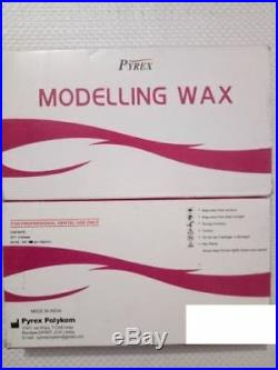 6 x Dental Modelling Wax use for Dentures 12 sheets Pack by PYREX 200g FAST SHIP