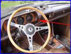 Abdeckung Verkleidung Instrument Tacho Original Peugeot 504 Coupe Cabrio Braun