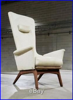 Adrian Pearsall Highback Lounge Chair Model 1534-C (Ask For A Shipping Quote)