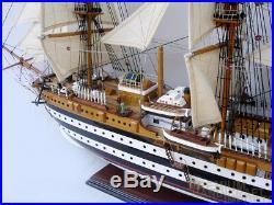 Amerigo Vespucci Ship Model 37 Full Assembled Ready for Display