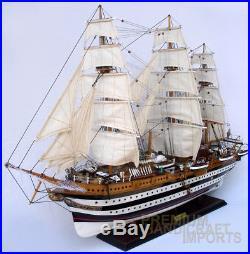 Amerigo Vesspucci Handcrafted Wooden Model Ship 36 Ready for Display