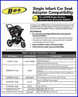 BOB Car Seat Adapter For Graco 2016+ Model S02984100 RARE SAME DAY SHIPPING