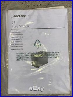 BOSE B1 BASS MODULE for L1 MODEL 1 & MODEL II DEMO's FREE SHIPPING