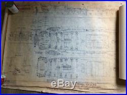 Blueprints / Plan Set For Model Of Royal Navy 74 Gun 19th Century Ship (#1)