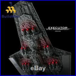 Building Blocks for Star Wars Executor Class Dreadnought Ship Model Bricks Toy