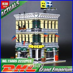 DHL Shipping 2232Pcs City Grand Emporium Model Building Blocks Lego For Kids Fun