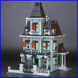 DHL Shipping Building 2141Pcs Monster fighter The haunted house Model For Kids