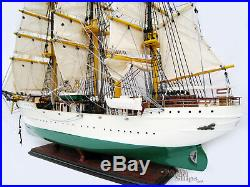 Danmark Wooden Training Ship Model Ready for Display 25