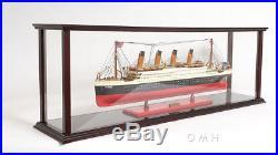 Display Case For 35 Or Smaller Cruise Ship/Ocean Liner Model