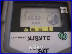 Ditch Witch Subsite Remote Display Model 80D For Locator 80RP WORLDWIDE SHIPPING