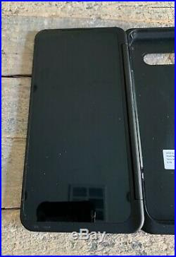 Dual Screen Case for LG V60 ThinQ 5G Phone Model LM-V605N Black FREE SHIPPING