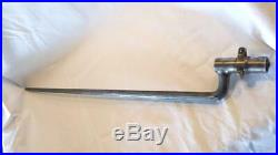 Dutch Model 1871 Socket Bayonet 2nd Pattern For A Beaumont Rifle Free Shipping