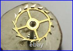 ESCAPE WHEEL and PINION for WWII World War 2 Hamilton model 21 Ship Chronometer