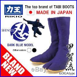 FOR MEN JAPANESE NINJA TABI BOOTS DARK BLUE MODEL Free Shipping from Japan store