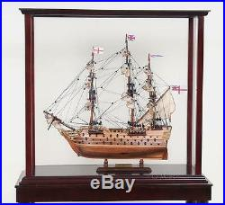 Floor Display Case Small For Ship Models