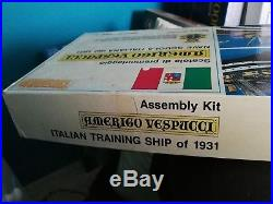 For Sale Is Model Kit Of Training Ship Amerigo Check All Pictures Complete