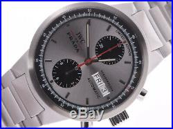 Free Shipping Pre-owned IWC GST Chrono IWC for Prada Limited Model Watch