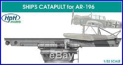 HPH Model 132 German Ship Catapult for Arado 196 Multimedia Model Kit #32004R