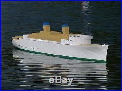 Huge Cruise Ship Matsonia Radio Control Model Boat Long For - Remote control cruise ship