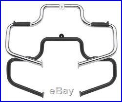 LINDBY Black 1.25 1 1/4 Highway Bars For Harley Models Crash Bars Free Shipping