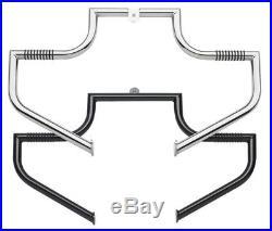 LINDBY Chrome 1.25 1 1/4 Highway Bars For Harley Models Crash Bars Free Shipping