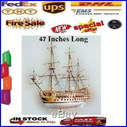 Luxury Classic Boat Sailing Wood Model Kits San Felipe Ship Kit For Pro Adults