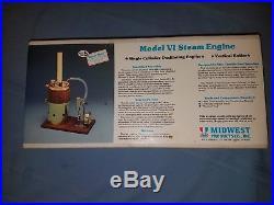 Midwest MODEL VI Steam Engine Vertical Boiler Kit 980 For