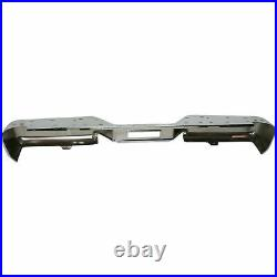 NEW Chrome Rear Bumper For 2004-2015 Nissan Titan SHIPS TODAY
