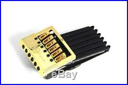 NEW EVERTUNE F MODEL 6 string Gold Bridge for Electric Guitar Free shipping
