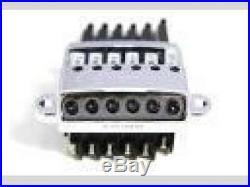 NEW EVERTUNE G MODEL 6 string Nickel Bridge for Electric Guitar Free shipping