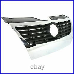NEW Front Grille For 2006-2010 Volkswagen Passat With Sensor Holes SHIPS TODAY
