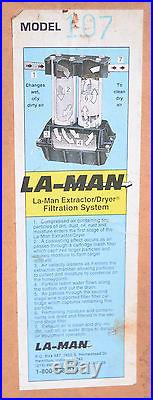 NEW NIB La Man 2 Stage Extractor Dryer For Air Model 107 FREE SHIPPING