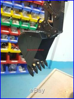 New Model Hydraulic Excavator Big Bucket For Excavator Toys Fast Shipping