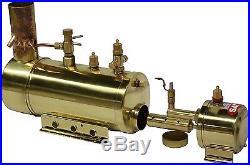 New SAITO Steam Boiler B2F for Model Ship Toy Marine Boat Free Shipping
