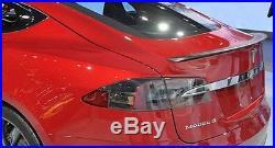 OEM Carbon Fiber Rear Spoiler for Tesla Model S FAST SHIPPING High Quality