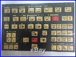 Operating Membrane Overlay for HYUNDAI KIA MODEL SKT CNC Lathe, free shipping