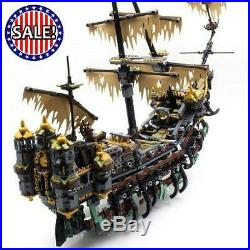 Pirates Caribbean Ship Model Set Building Blocks Kits Bricks Gifts Toys for KIDS