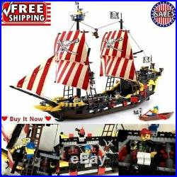 Pirates Ship Black Pearl Model Building Blocks Christmas Gifts Toys For Kids NEW