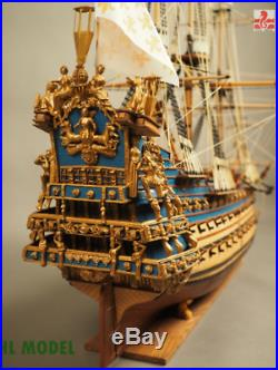 Premium ZHL Le Soleil Royal 1669 model ship wooden ships wood for adults kits