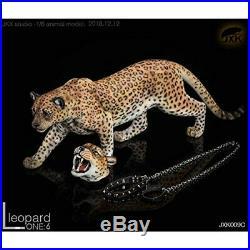 R / DOLL 1/6 Figure Doll Model for Base Model Leopard Animal Head DHL ship